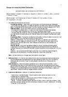 Compte-rendu GT Activités Culturelles n°4