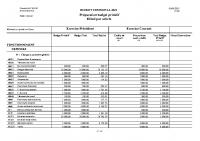 Budget primitif 2021 commune